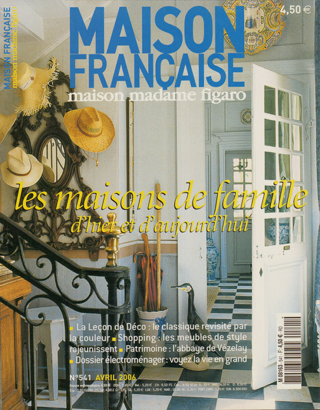The press caumont interiors for Magazine maison francaise