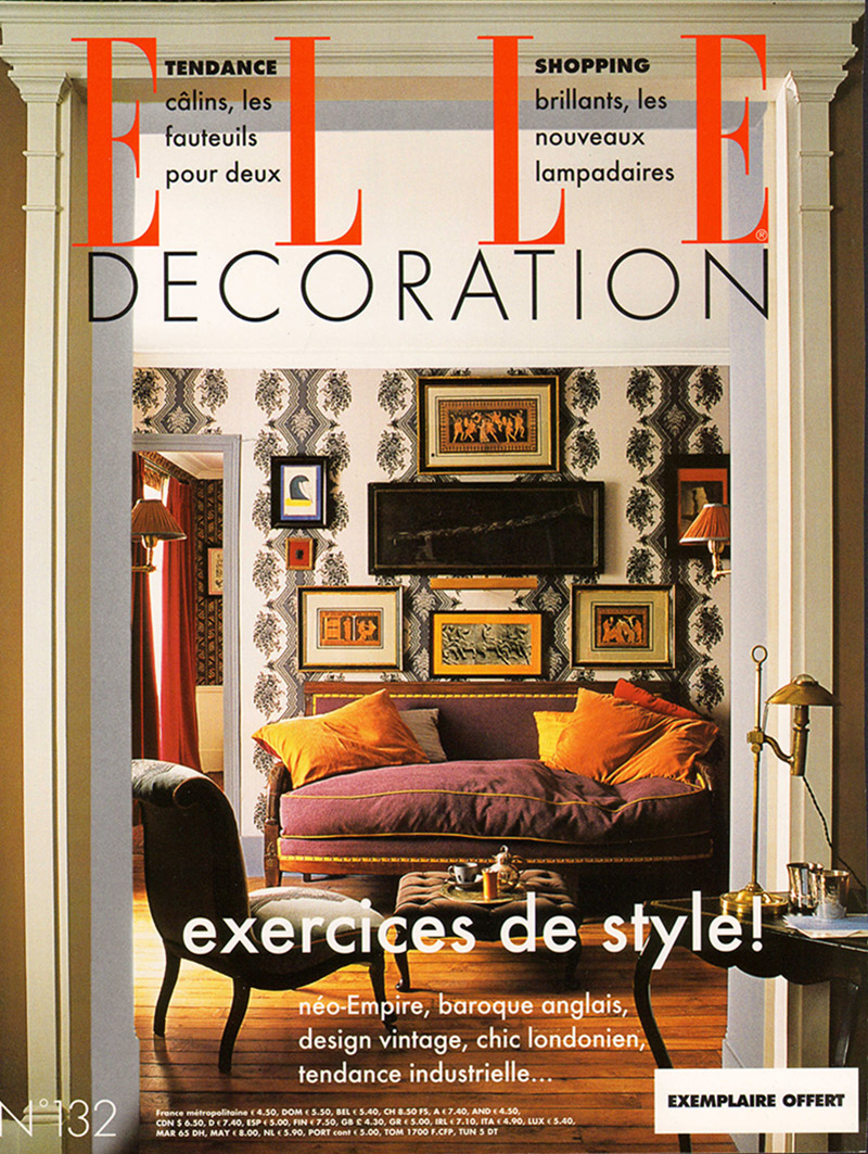Elle decoration france caumont interiors for Art and decoration france