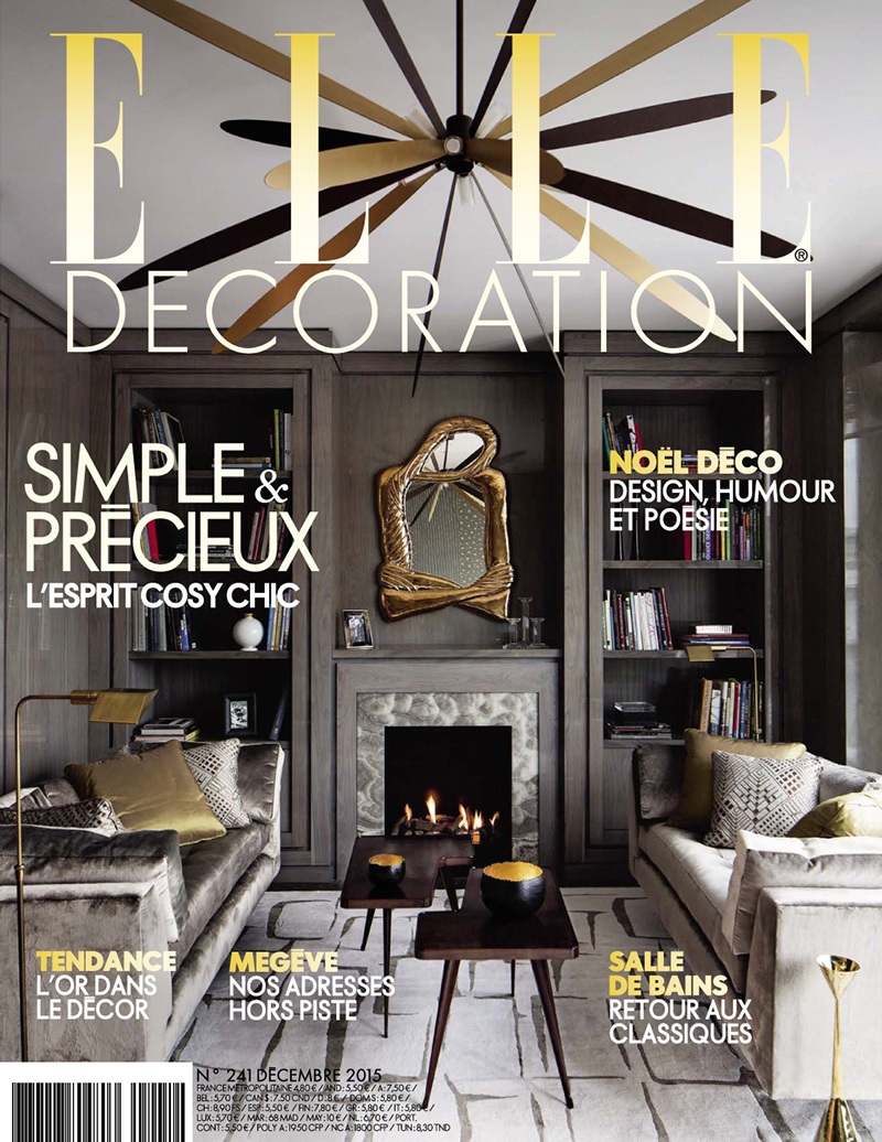 Elle decoration france caumont interiors for Interieur 70 jaren