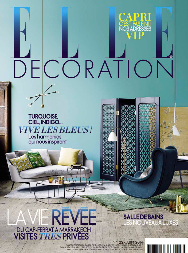Elle Decoration France Caumont Interiors