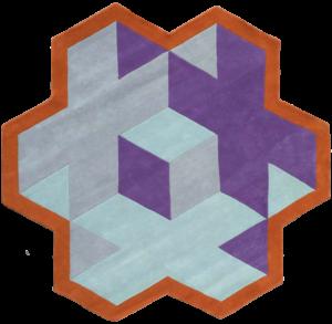 Geometrical violet